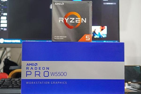 Ryzen 5 3600 và Radeon Pro W5500 - Cho hiệu năng làm việc tốt trên các phần mềm chuyên dụng
