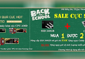 BACK TO SCHOOL - MUA 1 ĐƯỢC 2